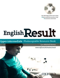Books Frontpage English Result Upper-Intermediate. Photocopiable Resource Book & DVD PACK ED 10