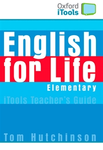 Books Frontpage English for Life Elementary. iTools and Flashcards Pack