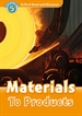 Portada del libro Oxford Read and Discover 5. Materials to Products MP3 Pack