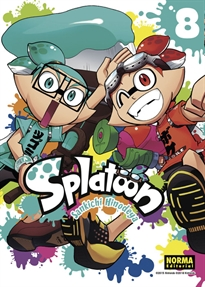 Books Frontpage Splatoon 8
