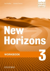 Books Frontpage New Horizons 3. Workbook