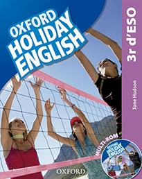 Books Frontpage Holiday English 3.º ESO. Student's Pack (catalán) 3rd Edition