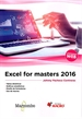Front pageExcel for masters 2016