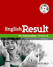 Books Frontpage English Result Pre-Intermediate. Workbook + multi-ROM Pack