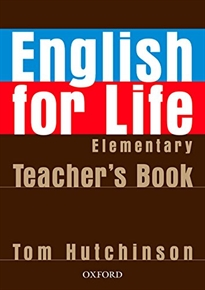 Books Frontpage English for Life Elementary. Teacher's Book