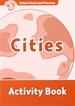 Portada del libro Oxford Read and Discover 2. Cities Activity Book