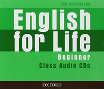 Books Frontpage English for Life Beginner. Class Audio CD (3)