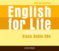 Books Frontpage English for Life Intermediate. Class Audio CD (3)