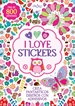 Portada del libro I love stickers