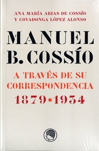 Books Frontpage Manuel B. Cossío