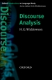 Portada del libro Discourse Analysis