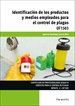Portada del libro UF1503 - Identificación de los productos y medios empleados para el control de plagas