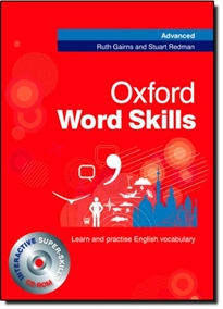 Books Frontpage Oxford Word Skills Advanced Student's Book and CD-ROM Pack