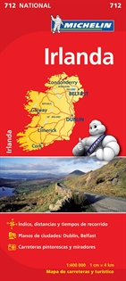 Books Frontpage Mapa National Irlanda