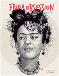 Books Frontpage FRIDA OBSESSION. Illustration, Painting, Collage ...