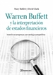 Portada del libro Warren Buffett y la interpretación de estados financieros