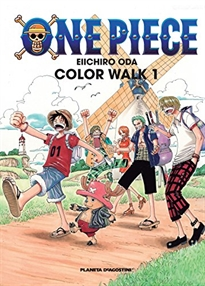 Portada del libro One Piece Color Walk nº 01