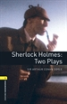 Portada del libro Oxford Bookworms 1. Sherlock Holmes. Two Plays MP3 Pack