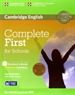 Front pageComplete First for Schools Student's Pack (Student's Book without Answers with CD-ROM, Workbook without Answers with Audio CD)