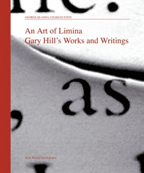 Books Frontpage An art of Limina. Gary Hill's. Works and writings
