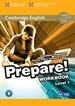 Portada del libro Cambridge English Prepare! Level 1 Workbook with Audio
