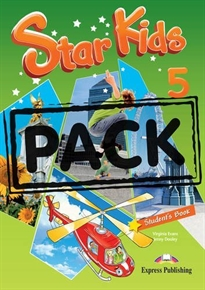 Books Frontpage Star Kids 5 Student's Pack