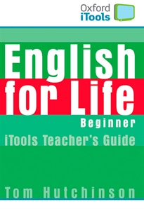 Books Frontpage English for Life Beginner. iTools and Flashcards Pack