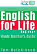 Front pageEnglish for Life Beginner. iTools and Flashcards Pack