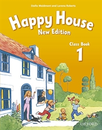 Books Frontpage Happy House 1. Class Book