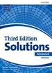 Front pageSolutions 3rd Edition Advanced. Workbook