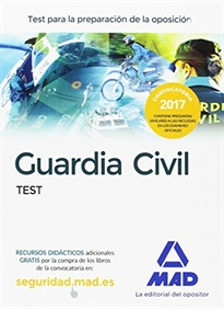 Portada del libro Guardia Civil. Test
