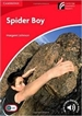 Portada del libro Spider Boy Level 1 Beginner/Elementary