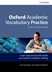 Portada del libro Oxford Academic Vocabulary Practice Lower Intermediate B1