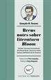 Portada del libro Breus notes sobre literatura-Bloom