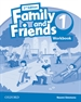 Portada del libro Family and Friends 2nd Edition 1. Activity Book
