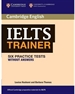 Portada del libro IELTS Trainer Six Practice Tests without Answers
