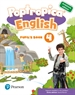 Portada del libro Poptropica English 4 Pupil's Book Andalusia + 1 code