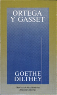 Books Frontpage Goethe, Dilthey