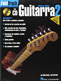Books Frontpage FAST TRACK GUITARRA 2   CD