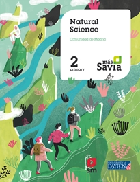 Portada del libro Natural science. 2 Primary. Más Savia. Madrid