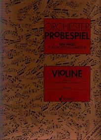 Books Frontpage ORCHESTER PROBESPIEL VIOLINE BAND 2