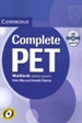 Front pageComplete PET Workbook without answers with Audio CD