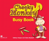 Books Frontpage CHEEKY MONKEY 1 Busy Book