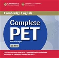 Books Frontpage Complete PET Student's Book Pack (Student's Book with answers with CD-ROM and Audio CDs (2))