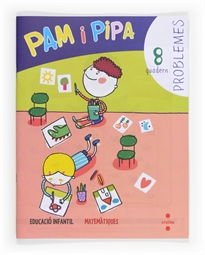 Books Frontpage Problemes 8. Pam i Pipa