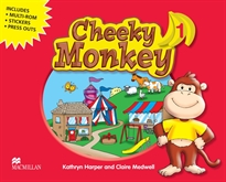 Books Frontpage CHEEKY MONKEY 1 Pb Pk