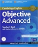 Portada del libro Objective Advanced Teacher's Book with Teacher's Resources CD-ROM 4th Edition
