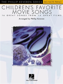 Books Frontpage CHILDREN'S FAVORITE MOVIE SONGS (BIG NOTE)
