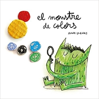 Portada del libro El Monstre de Colors, en cartoné