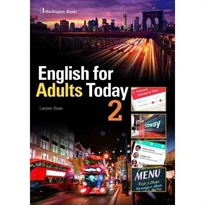Portada del libro English For Adults Today 2 Alum